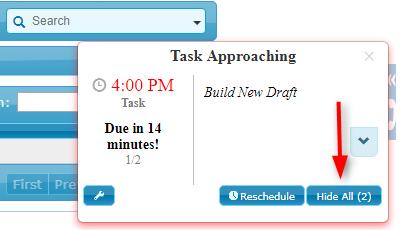 Task Approaching