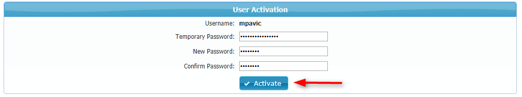 User Activation