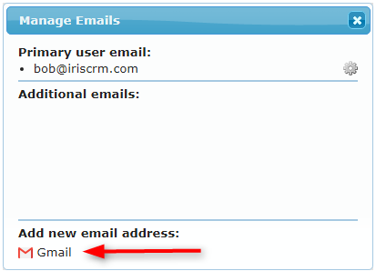 Add new email address