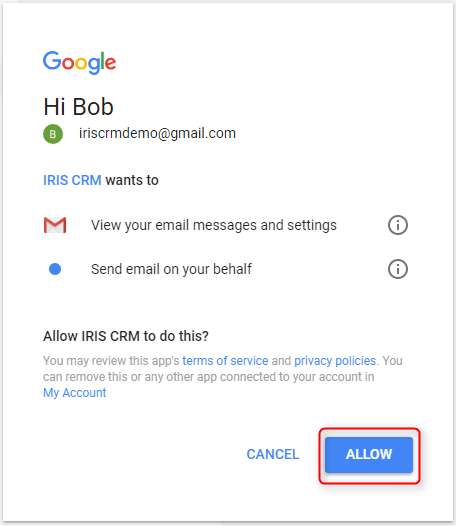 Gmail Auth