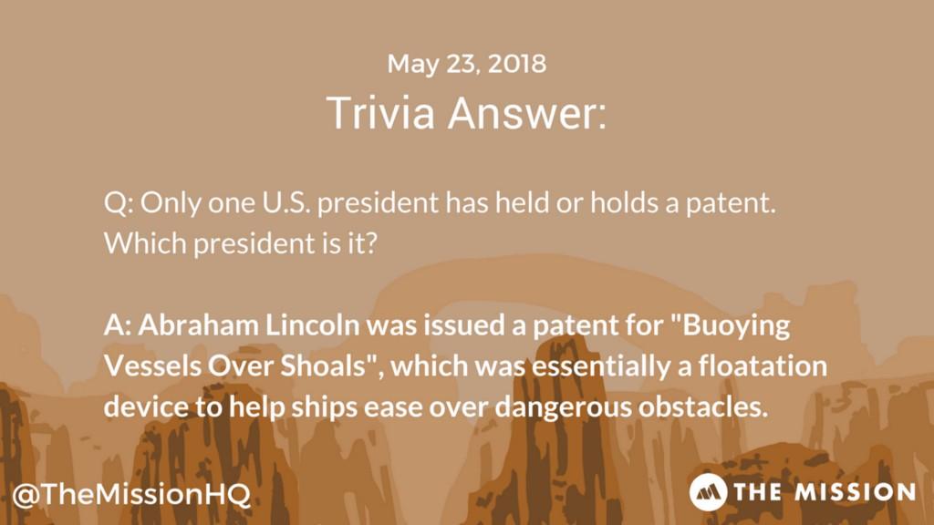 Trivia Answer