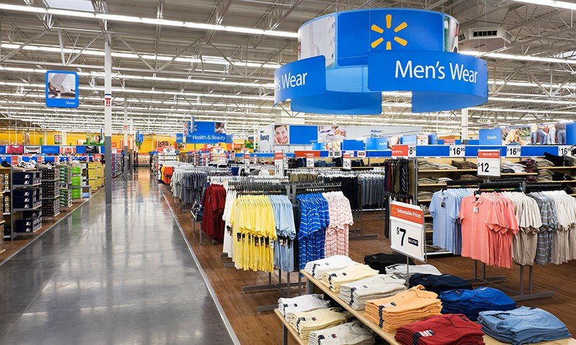 Men's Wear at Wal-Mart