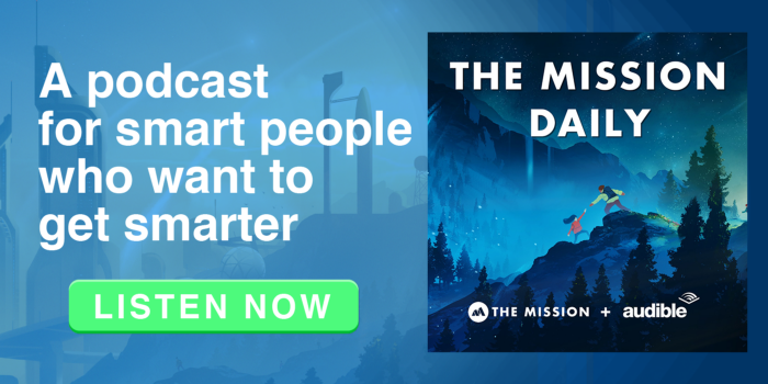 LISTEN NOW THE MISSION DAILY