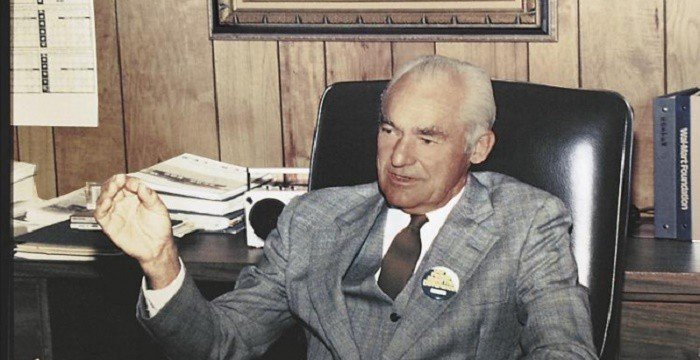 Sam Walton talking