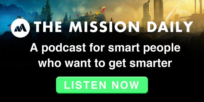 LISTEN NOW - THE MISSION DAILY