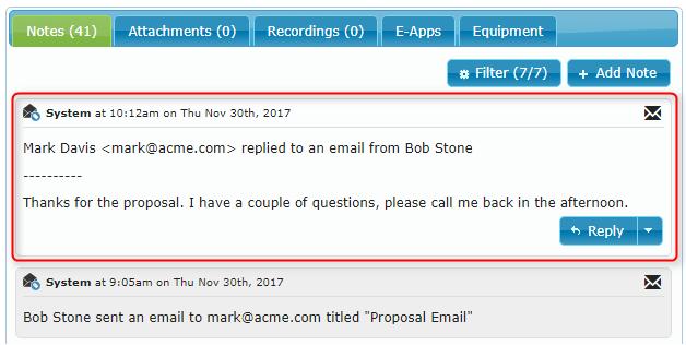 Outlook Response