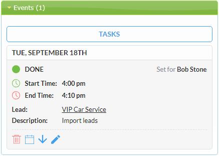 Helpdesk Calendar Widget