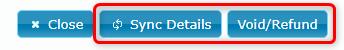 Transaction Details Buttons